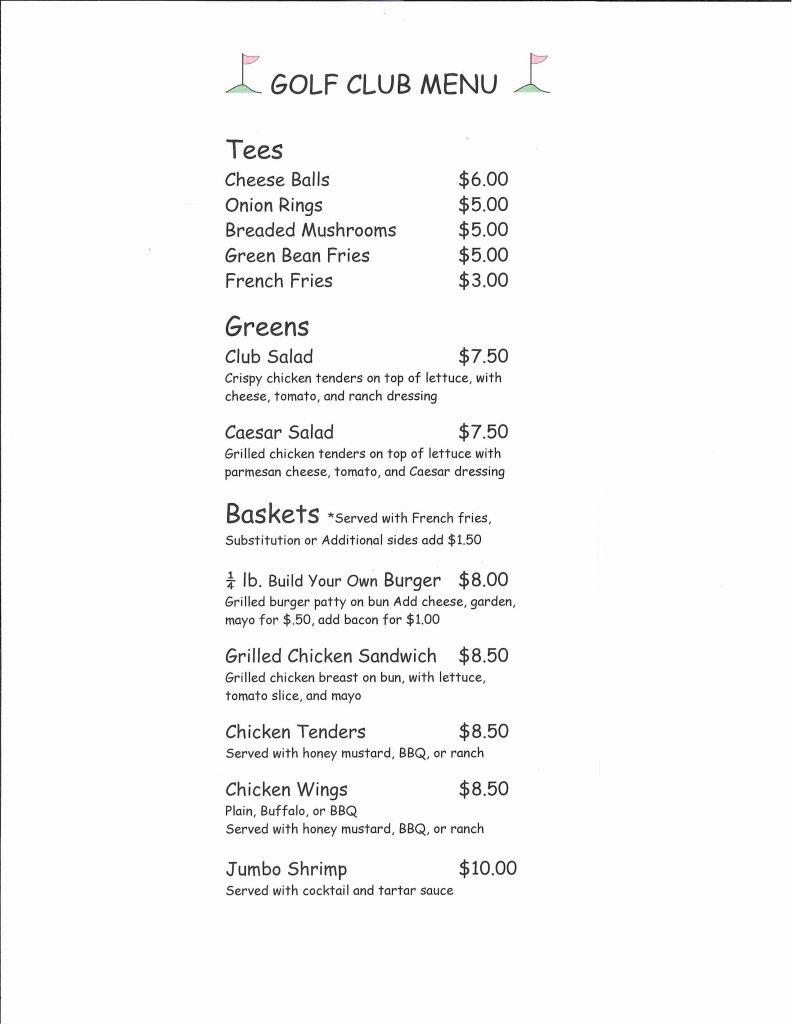 20156 menu